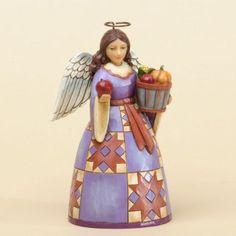 Fruits Of The Harvest-Pint-Sized Harvest Angel Figurine