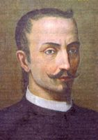 "Pietro Carrera (Militello, 1573-1667), chess player, historian, priest and Italian author. In 1617 he wrote and published Il Gioco degli Scacchi (The Game of Chess), subdivided into eight books where ""learning the rules, the odds, the endgames, the blindfold chess and a discussion about the true origins of chess in itself""."