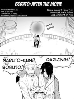 Boruto: After The Movie Pg1 by bluedragonfan on Deviantart