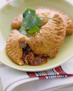 Our Spiciest Recipes | Martha Stewart Living - We double down on the heat in these tasty chicken turnovers, using both fresh poblano chiles and canned chipotle chiles in adobo.