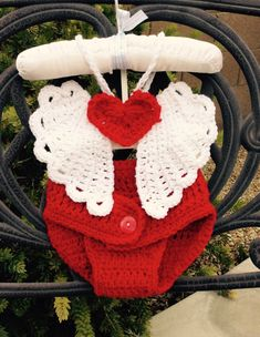 Crochet cupid angel wings (optional diaper cover) by CrochetbyAntoinette on Etsy https://www.etsy.com/listing/216335539/crochet-cupid-angel-wings-optional