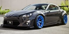 Aggressive FRS with fenders flared