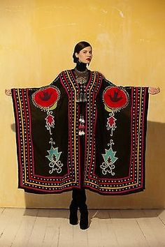 Roja Collection Ceremonial Robe from Cowgirl Kim Native American Clothing, Native American Fashion, American Jewelry, Ethnic Fashion, Hijab Fashion, Fashion Outfits, Mode Russe, Foto Fashion, Western Wear For Women