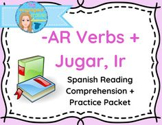 Spanish 1 Reading Comprehension and Activities: -AR verbs, IR and JUGARExprsate 1 Chapter 3 part 2This packet contains a reading passage that includes common spanish verbs in the present tense to discuss schedule and make plans. There are then various activities to be used as follow-up to the reading.In the attached activities, students are called to:* mark the different categories of verbs in the passage* identify and define the verbs used in the passage* answer true/false questions for…