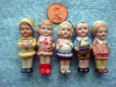 M-144 Large Penny Dolls mold at Mystic Molds