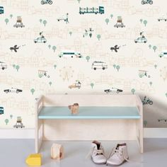 Fleur Dot Licorne Art Autocollant Mural Enfants Chambre à coucher Decal Home Decor Classique Chaud
