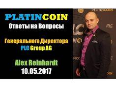 PlatinCoin Платинкоин - Ответы на вопросы Генерального директора PLC Gro...