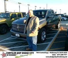 #HappyBirthday to Robert Norris Jr from David Walls  at Dodge City of McKinney!