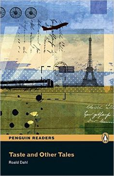 Peguin Readers and Other Tale Book & CD Pack: Level 5 (Penguin Readers (Graded Readers)) - 9781405880190 Collage Book, Book Art, Collage Artists, Collages, Roald Dahl, Penguin Readers, Level 5, Minimal Poster, Collage Illustration
