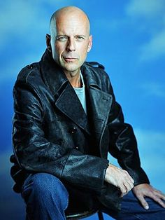 Bruce Willis. Among other things, funny as hell.  That's why I love him