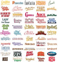 The Parade of Walt Disney Studios Animated Films  The Walt Disney Studios started feeding our imagination with animated films since 1937. Since then, it's done over 50 animated films. Here you can see them all in order.