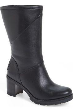UGG® 'Jessia' Water Resistant Block Heel Boot (Women) available at #Nordstrom