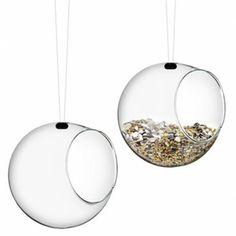 Eva Solo hangende zaadbol glas (2 stuks) van Vogelhuisjestore.nl