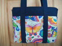 Handmade Handbag Tote - Laurel Burch. http://www.vtwiccan.org/