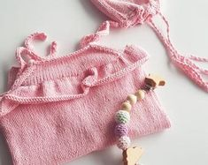 Everything About Handcrafted Crochet and Knitting by fatoshope Winter Baby Clothes, Knitted Baby Clothes, Baby Winter, Crochet Clothes, Crochet Romper, Newborn Crochet, Crochet Baby, Baby Animal Costumes, Newborn Outfits