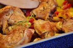 Oven Chicken with Potatoes - Powered by @ultimaterecipe