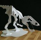 Dinosaur Skeleton Paper Craft