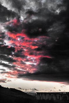 Red Sunset / Molise region Italy