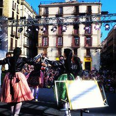 Sardanes @ Festes de Santa Eulàlia in Barcelona, Spain