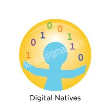 "Digital Badge: Digital Natives— Today's youth were born into technology and it infuses every moment of their lives. While you may not be one, you need to understand ""where they're coming from."" larajla.com"