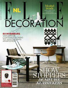 Cover ELLE Decoration NL nummer 5 2013