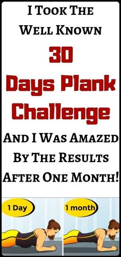 All oft he Internet fitness challenges are not effective, but we want to share with you a challenge, that can bring benefits to your health. We will tell you about the experience of someone who took this challenge. This challenge Month Workout Challenge, 30 Day Plank Challenge, Workout Schedule, 30 Day Fitness, Health Fitness, Isometric Exercises, Workout For Beginners, Beginner Workouts, Weight Gain