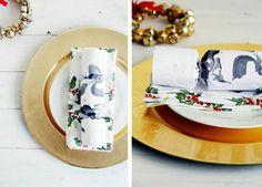 Crackers Noël marbrés à faire soi-même en tant que cadeaux d ...