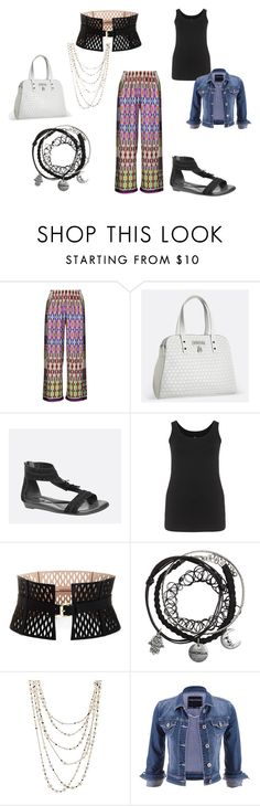 """""""Funky Pants turned cute"""" by diana-evans-1 on Polyvore featuring aprico, Avenue, BCBGMAXAZRIA, Sidney Garber and maurices"""