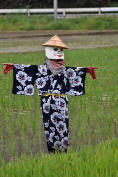Japanese Scarecrow Karamas Islands.