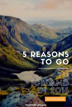 5 reasons I'm dying to go to Iceland in 2015 (Game of Thrones filming locations, the Northern Lights, blue lagoon iceland...)