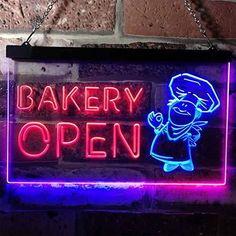 Bakery Open LED Neon Light Sign