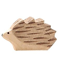 Ostheimer Hedgehog Small Ostheimer's expressive wooden figures have been loved by children and their parents for more than fifty years, and the. Spotted Animals, Big Animals, Wooden Toys Australia, Carved Wooden Animals, Wood Games, Wood Carving Patterns, All Toys, Kids Toys, Little Monkeys