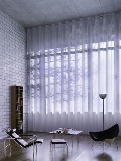 Weave sheer curtain