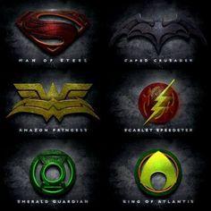JLA Emblems