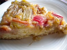 Gâteau tatin rhubarbe