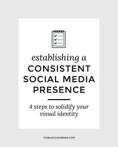 Consistency in social media is crucial