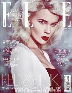 Elle Russia September 2013