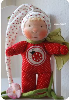 waldorf inspired fabric doll by Immertreu®