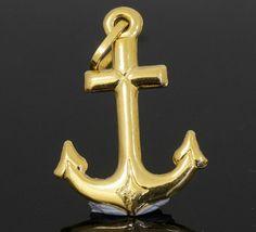 18Carat Yellow Gold Anchor Pendant / Charm 17x25mm  https://www.jollysjewellers.com/product/18carat-yellow-gold-anchor-pendant-charm-17x25mm/
