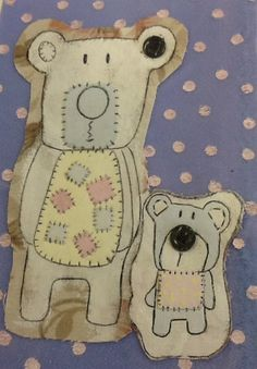 Design 11 - there will be a gap between the two bears on the A1 piece