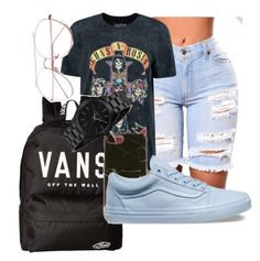 """Untitled #27"" by karmenm2004 on Polyvore featuring Boohoo, Vans, Richmond & Finch and Michael Kors"