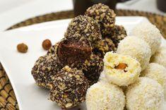 Vegánske Raffaelo a Ferrero Rocher guľky