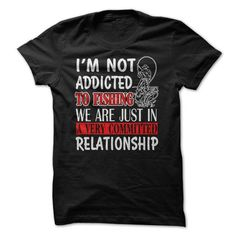 nice IM NOT ADDICTED TO FISHING WE ARE JUST IN A VERY COMMITTED RELATIONSHIP. Check more at http://9names.net/im-not-addicted-to-fishing-we-are-just-in-a-very-committed-relationship/