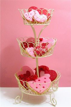 Romantic Heart Decorations for Valentines Day