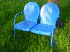 two seat lawn chairs wedding chair covers pembrokeshire 198 best shott vintage metal images garden loveseat