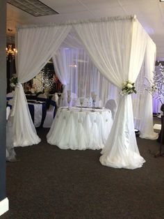 70 pure white wedding decor ideas for romantic wedding 23 White Wedding Decorations, Backdrop Decorations, Backdrops, Wedding Show, Wedding Table, Gazebos, Red And White Weddings, Wedding Consultant, Head Tables