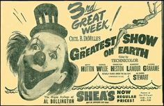 """""""The Greatest Show On Earth"""" (1952)"""