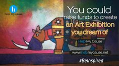 Express your creativity with a new lease of life and helpmycause.net