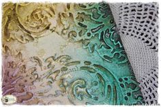Tutorial: Beautiful Backgrounds with Spring Distress Inks — Tammy Tutterow Designs