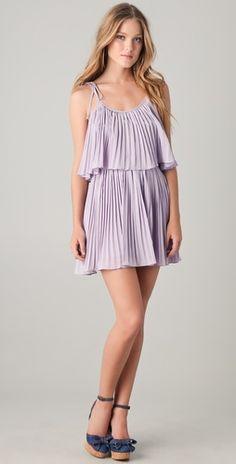 purple bridesmaid dress idea #1